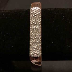 Chicos crystal cuff bracelet